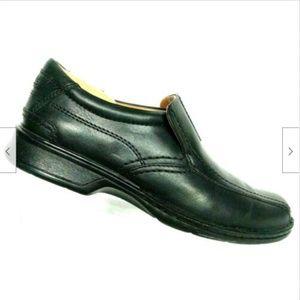 Clarks Escalade Step Men Black Leather Loafer 11M